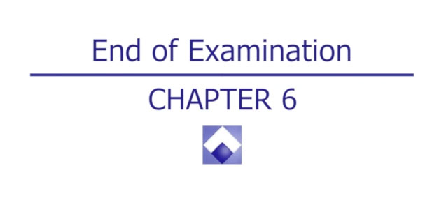 APMLE End of Examination - Chapter 6